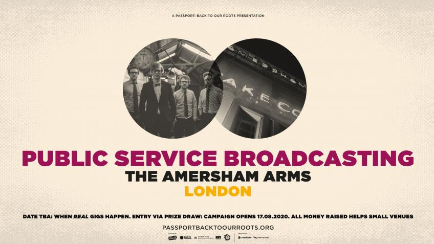 Public Service Broadcasting at The Amersham Arms