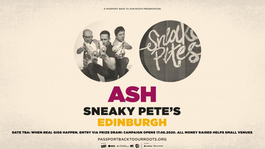 Ash at Sneaky Pete's, Edinburgh