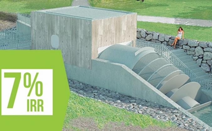 Aberdeen community energy - donside hydro image