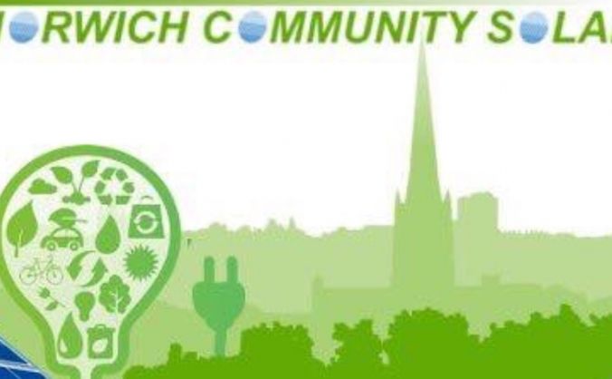 Norwich community solar image