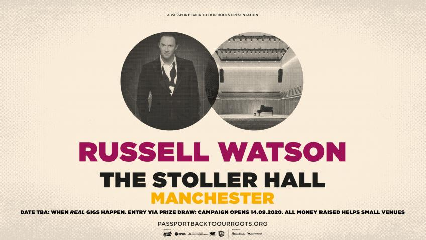 Russell Watson at The Stoller Hall, Manchester