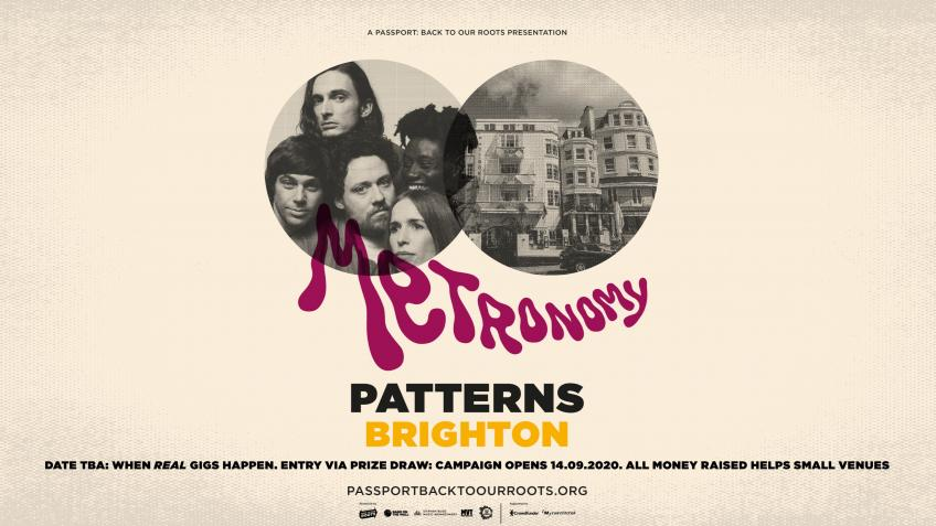 Metronomy at Patterns, Brighton