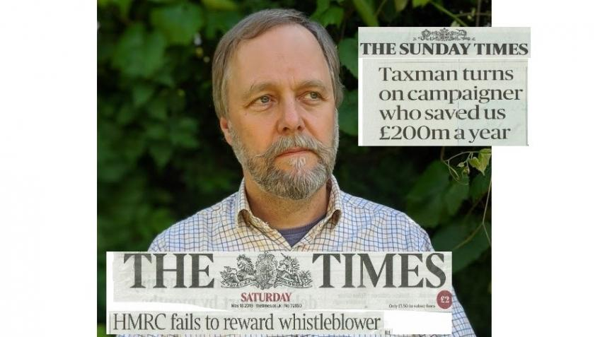FUND THE TAX CAMPAIGNER WHO SAVED US £200m A YEAR