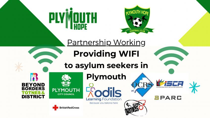 Keeping Asylum Seekers Connected WIFI Project