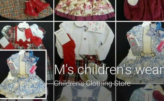 M's children's wear - expansion needed image