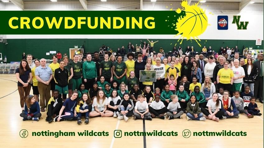 Support Nottingham Wildcats Basketball Post Covid