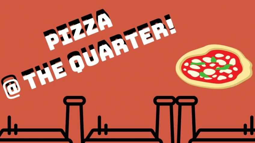 Pizza at The Quarter