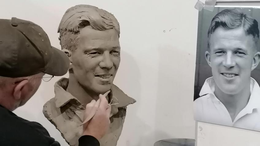 Remembering Reg: Build a Bust of Reg Harrison