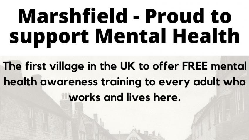 Marshfield - Proud to support Mental Health