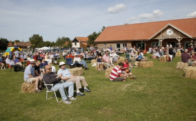 Thornham village hall and playing field image