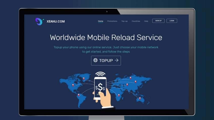 XEANU.COM - Worldwide Mobile Reload Service