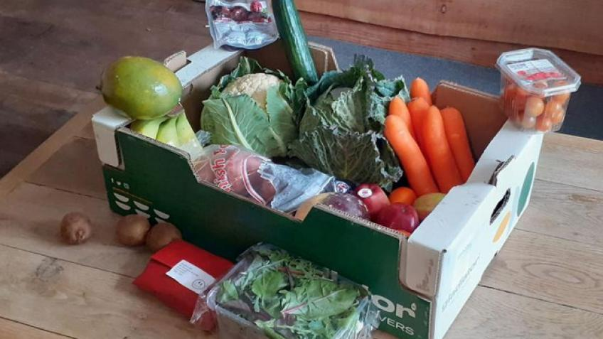 Covid-19 Emergency Food Boxes- Xmas initiative