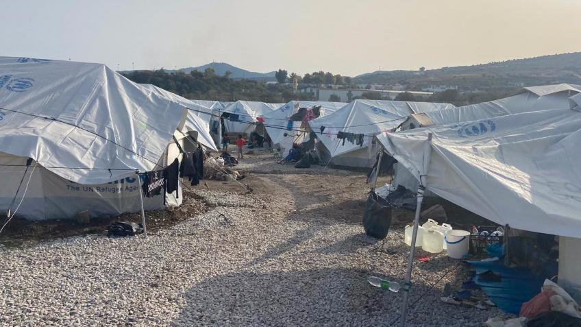 Funds to cover the transport costs to Lesvos.