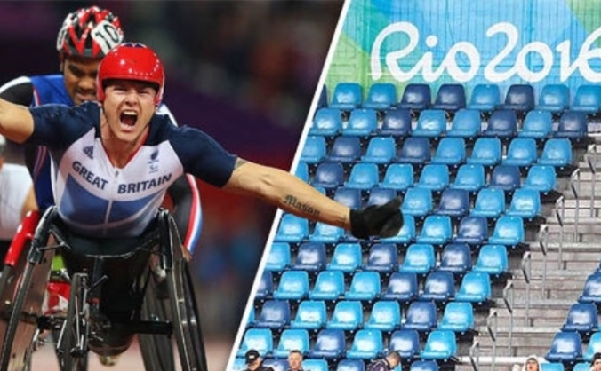 Save the 2016 paralympics! #filltheseats image