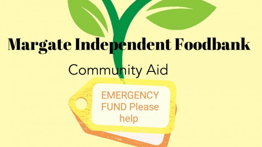EMERGENCY FUND TO KEEP FOOD BANK GOING