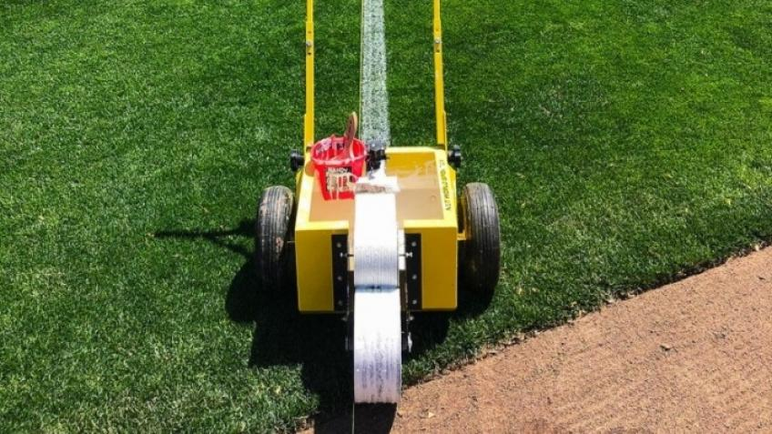 Help fund the cost of a new pitch line marker