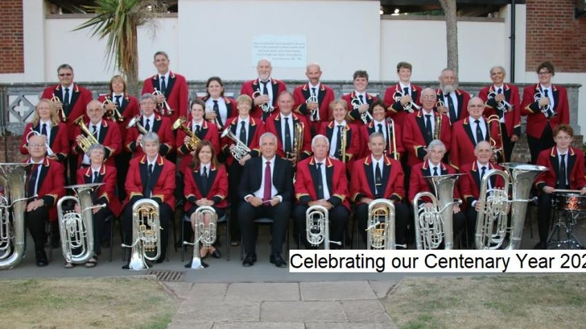 Ottery St Mary Silver Band Centenary Plus 1