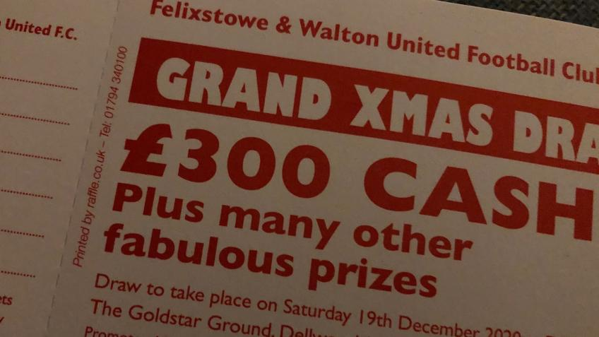 Felixstowe & Walton United FC Grand Christmas Draw