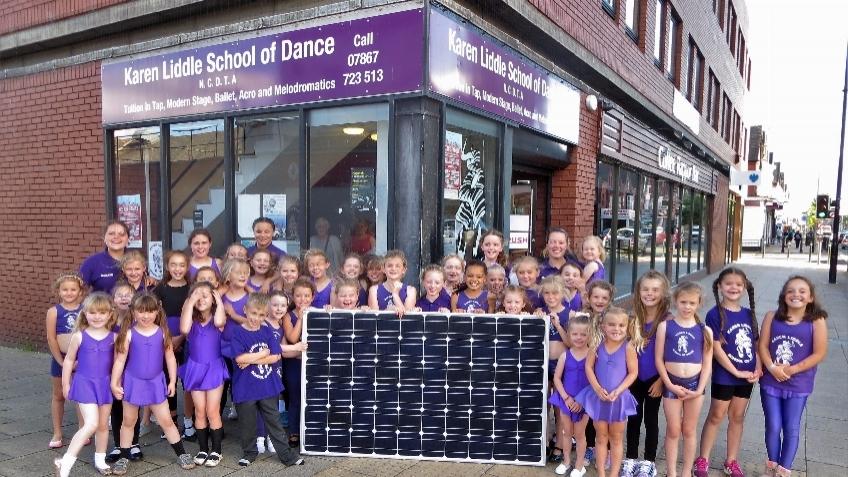 Solar Karen Liddles Hartlepool A Community Crowdfunding