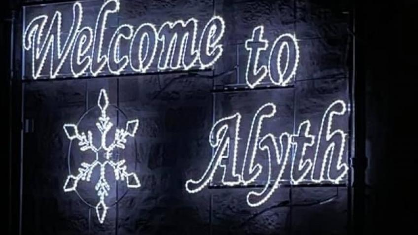 Alyth Christmas lights 2020