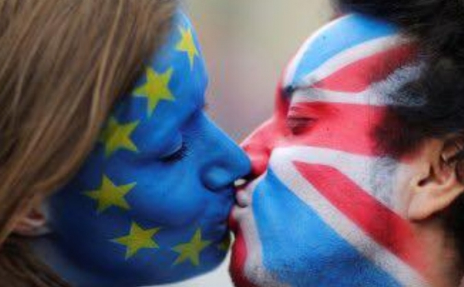 Pro-eu leaflets for marches/protests and website image