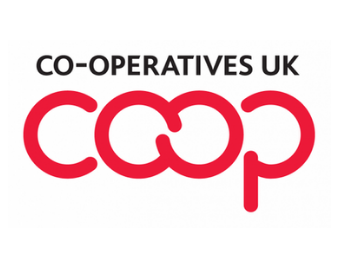 Co-operatives UK - supporting community owned businesses on Crowdfunder logo