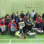 """The Charioteers""  Wheelchair Football Club & Charity"