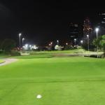 Golf after sunset