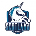 Team Scotland Roller Derby.