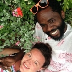Emily Robertson and Malik Tokwe