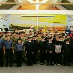 South Shields Sea Cadets and Marine Cadets.
